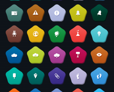 Flat Colorful Pentagon Icons Set PSD Web Resources Web Elements unique UI elements UI Stylish Shape set Resources Quality PSD Icons pictograph pictogram picto Pentagon pack original new Modern Icons Icon PSD Icon Fresh Free Icons Free Icon free download Free flat style flat psd flat icons set flat icons Flat Design Flat falt icon Elements detailed Design Creative Colorful Clean