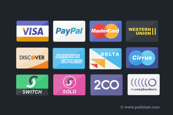 Flat Credit Card Icons Set PSD Web Resources, Web Elements, Visa, unique, Stylish, Shopping, Resources, Quality, PSD Icons, paypal, payment icon, Payment, pack, original, online shopping, new, Modern, Master Card, Icons, Icon PSD, Icon Pack, Icon, Fresh, Free Icons, Free Icon, flat psd, flat icons, flat icon, Flat Design, Flat, Elements, e-commerce icon set, detailed, Design, debit card icon, debit card, debit, credit card icon, Credit Card, Creative, Clean, Card,