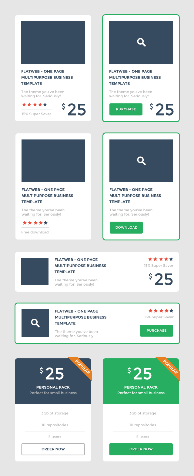 Flat Promo Blocks UI PSD Set Web Resources, Web Elements, Web Design Elements, Web, User Interface, unique, ui set, ui kit, UI elements, UI, Table, Stylish, Resources, Quality, Promotion, promo, Product, Price Tag, price table, price list, Price, pack, original, new, Modern, Listing, Items, Interface, GUI Set, GUI kit, GUI, Graphical User Interface, Fresh, flat ui, flat psd, Flat Design, Flat, Elements, detailed, Design Resources, Design Elements, Design, Creative, Clean, blocks,