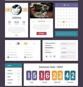Flat Retro UI Kit Free PSD widgets Web Resources Web Elements Web Design Elements Web User Profile User Interface User ui set ui kit UI elements UI Sliders Retro Resources Profile pagination Navigation Menu Kit Interface GUI Set GUI kit GUI Graphical User Interface flat ui flat style flat psd flat gui Flat Elements Design Resources Design Elements Countdown Calendar Buttons