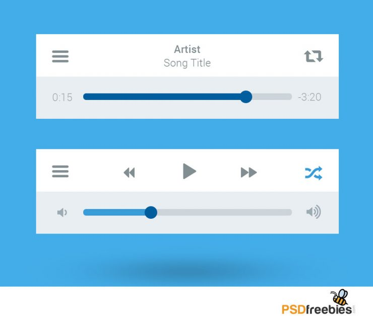 Flat Style Media Player UI interface Free PSD White, Web Resources, Web Elements, Web Design Elements, Web, Volume, Video, Vertical, User Interface, unique, ui set, ui kit, UI elements, UI, Stylish, Stop, Resources, Quality, Psd Templates, PSD Sources, psd resources, PSD images, psd free download, psd free, PSD file, psd download, PSD, progress, Players, Player, Play, Photoshop, Pause, Panel, pack, original, new, Music, Multimedia, Modern, material, Layered PSDs, Layered PSD, Interface, GUI Set, GUI kit, GUI, Graphics, Graphical User Interface, Fresh, Freebies, Free Resources, Free PSD, free download, Free, flat style, Flat, Elements, download psd, download free psd, Download, detailed, Design Resources, Design Elements, Design, Creative, Control, Clean, Buttons, Broadcast, Box, Adobe Photoshop,