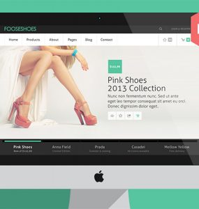 Fooseshoes eCommerce PSD Website Template www White Website Template Website Layout Website webpage Web Template Web Resources web page Web Layout Web Interface Web Elements Web Design Web User Interface UI Template Simple Shoes Resources Psd Templates psd ecommerce website PSD products free ecommerce website Free fooseshoes Elements eCommerce Clean