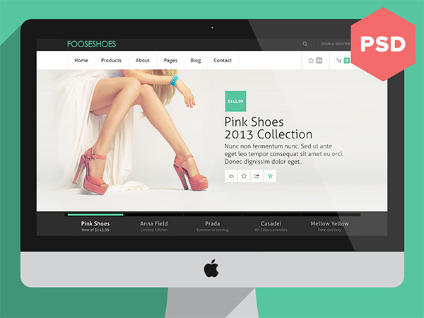 Fooseshoes eCommerce PSD Website Template www, White, Website Template, Website Layout, Website, webpage, Web Template, Web Resources, web page, Web Layout, Web Interface, Web Elements, Web Design, Web, User Interface, UI, Template, Simple, Shoes, Resources, Psd Templates, psd ecommerce website, PSD, products, free ecommerce website, Free, fooseshoes, Elements, eCommerce, Clean,