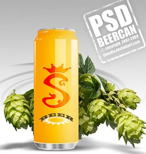 Free Beer Can PSD Psd Templates, PSD Sources, psd resources, PSD images, psd free download, psd free, PSD file, psd download, PSD, Objects, Layered PSDs, Icons, Free PSD, Drink, download psd, download free psd, Celebration, Can, Beer,