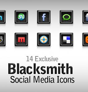 Free Blacksmith Social Media Icons PSD YouTube, Web Resources, Twitter, Technorati, Stumbleupon, Social Network, Social Media Icons, Social Media, Social, RSS Icon, RSS, Resources, Psd Templates, PSD Sources, psd resources, PSD images, psd free download, psd free, PSD file, psd download, PSD, Linkedin, Layered PSDs, Icons, Icon Set, Icon PSD, Free PSD, Free Icons, Free Icon, Facebook, download psd, download free psd, Delicious, Black,