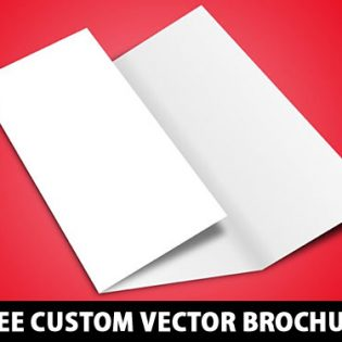 Free Custom Vector Brochure Template