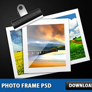 Free Photo Frame PSD