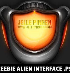 Freebie Alien Interface PSD Psd Templates, PSD Sources, psd resources, PSD images, psd free download, psd free, PSD file, psd download, Layered PSDs, Interface, Graphics, Freebie, Free PSD, download psd, download free psd, Alien, 3D,