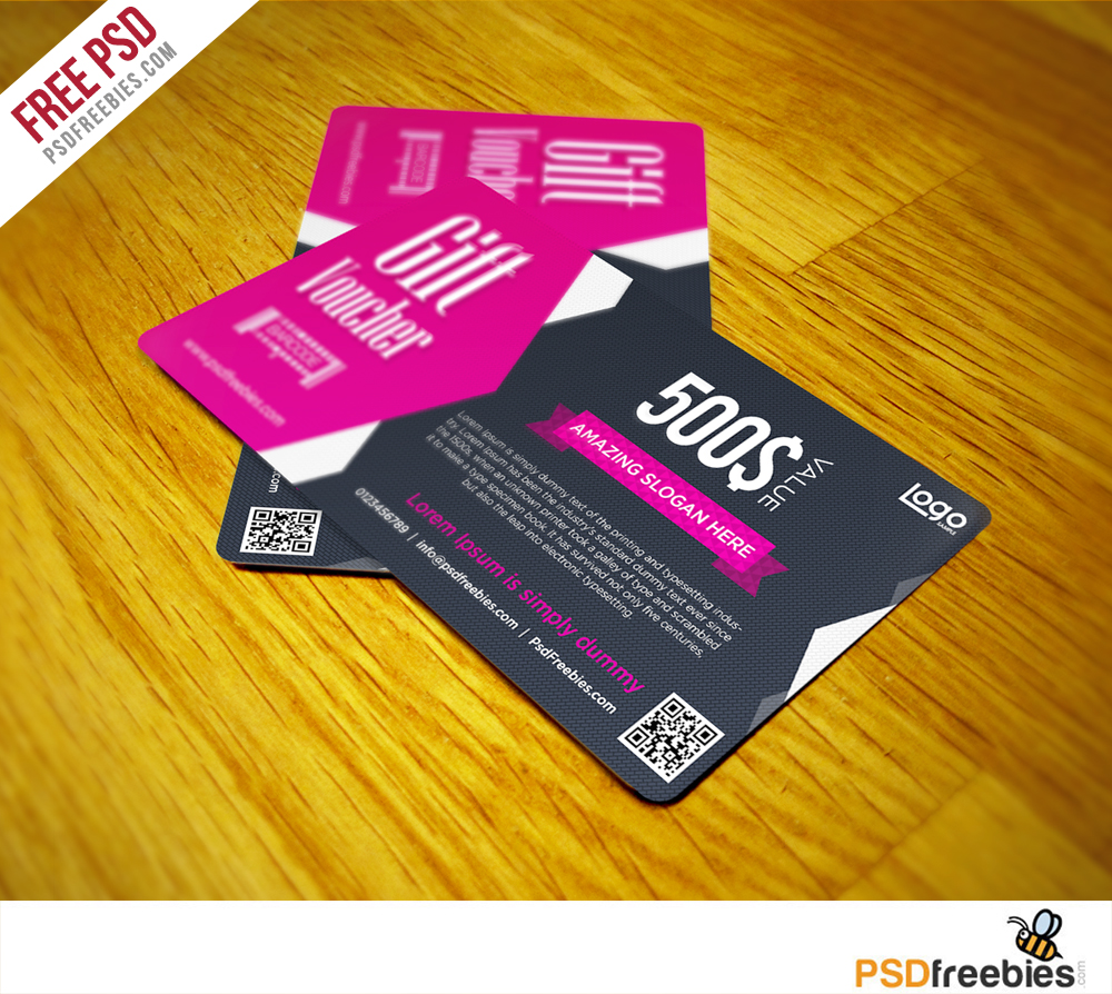 Gift Voucher Coupon Free Psd Template Download Download Psd