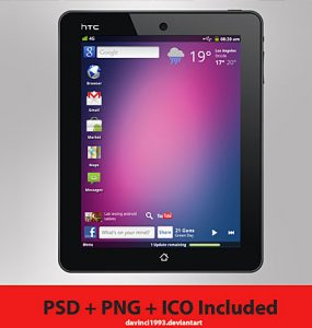 HTC Aurora Concept Free PSD Work Touch Screen Tablet Tab Screen psd resources Phone PC Objects Mobile Layered PSDs Icon HTC Handset Glossy Free PSD Electronics Device CPU Concept Computer Aurora .png