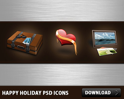 Happy Holidays Free PSD Icons Suitecase, Ribbon, Psd Templates, PSD Sources, PSD Set, psd resources, PSD images, psd free download, psd free, PSD file, psd download, PSD, Picture Frame, Photo Frame, Office, Objects, Love, Layered PSDs, Icons, Icon Set, Icon PSD, Icon, Holiday, Heart, Happy, Glossy, Fun, Free PSD, Free Icons, Free Icon, Frame, download psd, download free psd, Corporate, Briefcase,
