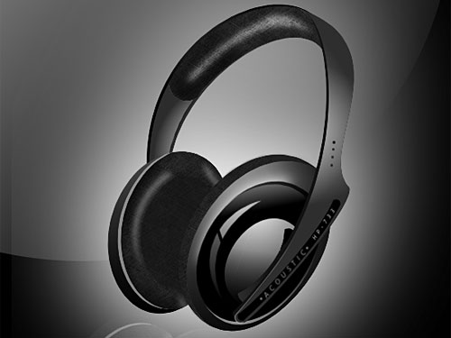 Headphones PSD file Sound, PSD, Objects, Music, Layered PSDs, Headphone,