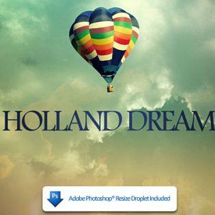 Holland Dreams PSD file