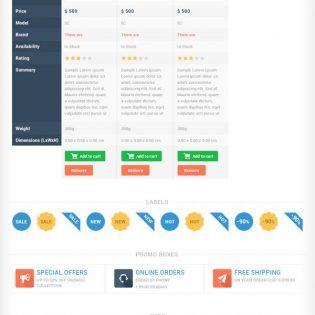 Huge UI Element PSD Kit