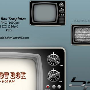 Idiot Box TV Templates