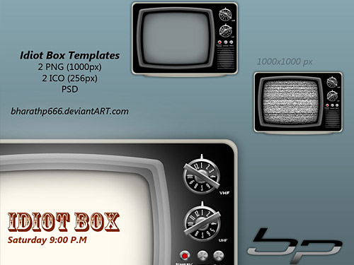 Idiot Box TV Templates TV PSD TV Television Retro Psd Templates PSD Sources psd resources PSD images psd free download psd free PSD file psd download PSD PNG Icons Old Style Objects Layered PSDs Icons Icon Free PSD Electronics download psd download free psd .png