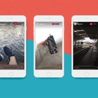 Instagram Live UI Kit Free PSD
