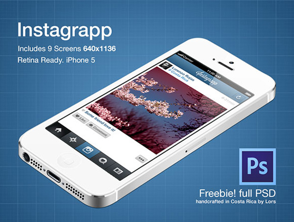 Instagrapp App Screens Freebie PSD File Web Resources, Web Elements, Web Design Elements, Web, User Interface, unique, ui set, ui kit, UI elements, UI, Stylish, set, screens, Resources, Quality, Psd Templates, PSD Sources, psd resources, PSD images, psd free download, psd free, PSD file, psd download, PSD, Photoshop, OSX, original, new, Modern, Layered PSDs, Layered PSD, Iphone, Interface, Instagrapp ui psd, Instagrapp, hi-res, HD, GUI Set, GUI kit, GUI, Graphics, Graphical User Interface, Fresh, Freebies, Free Resources, Free PSD, free download, Free, Elements, download psd, download free psd, Download, detailed, Design Resources, Design Elements, Design, Creative, Clean, Application, Apple, App, Adobe Photoshop,