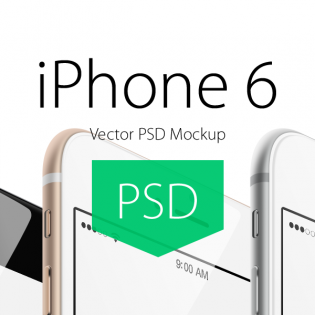 Iphone 6 PSD Free Mockup