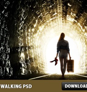 Keep Walking Free PSD Surreal, Sunburst, Sunbeam, Psd Templates, PSD Sources, psd resources, PSD images, psd free download, psd free, PSD file, psd download, PSD, Photo Manipulation, Manipulation, Light, Layered PSDs, Girl, Free PSD, download psd, download free psd,