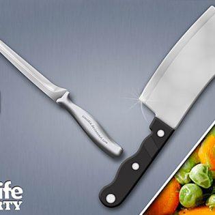 Kitchen Knife Free PSD