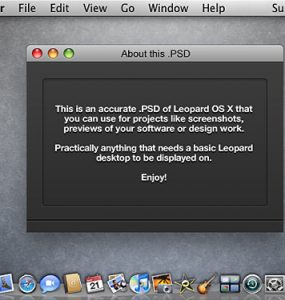 Leopard OS X Screenshot PSD Psd Templates PSD Sources psd resources PSD images psd free download psd free PSD file psd download PSD OSX Oprating System Leopard Layred PSDs GUI Graphics Free PSD download psd download free psd Computer Apple