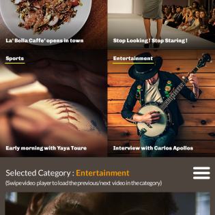 Lifestyle Magazine Website Template PSD