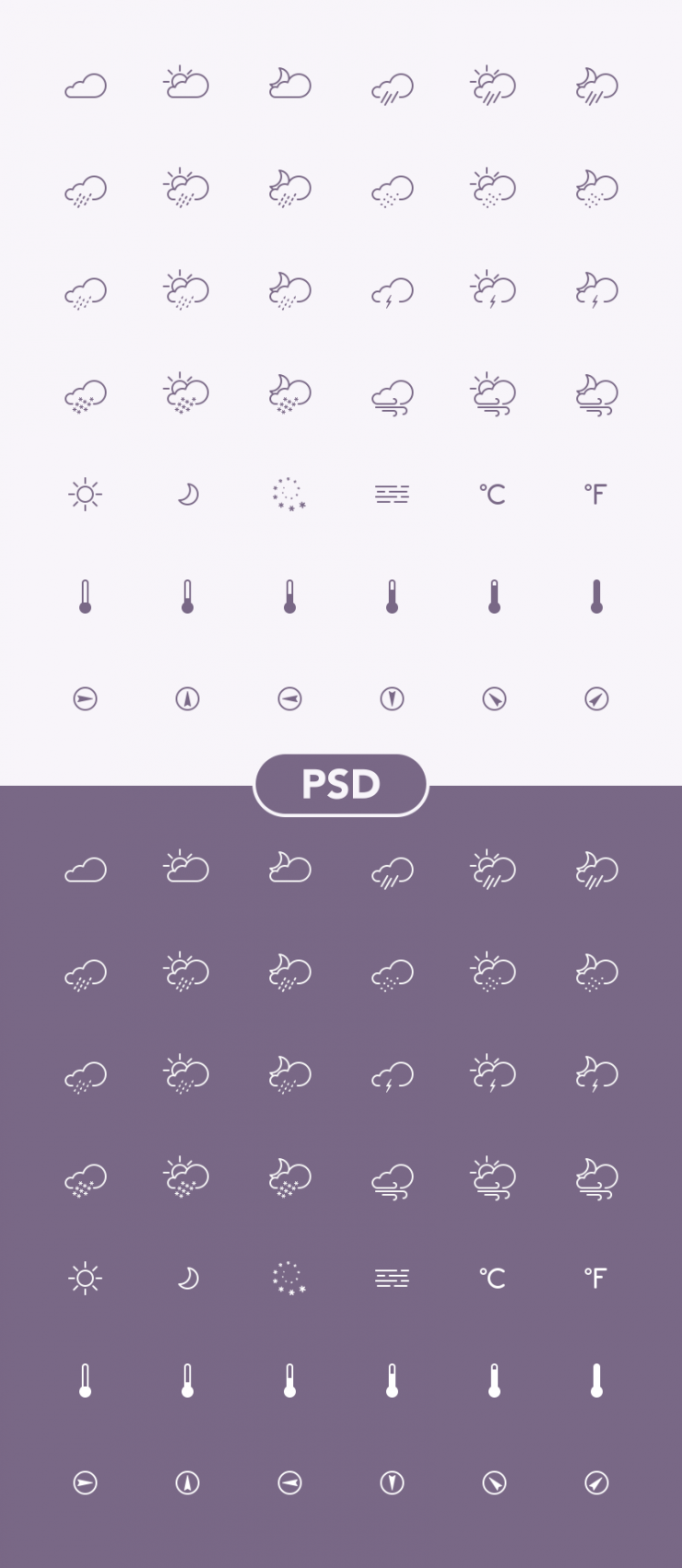 Line Weather Icons PSD Set Web Resources, Web Elements, weather, unique, Sun, Stylish, Snow, small, Simple, set. psd kit, Resources, raining, Rain, Quality, PSD Set, PSD Icons, PSD, pack, outline, original, new, moon, Modern, line, Icons, Icon PSD, Icon, Fresh, Freebie, Free PSD, Free Icons, Free Icon, Elements, Download, detailed, Design, Creative, Cloud, Clean,