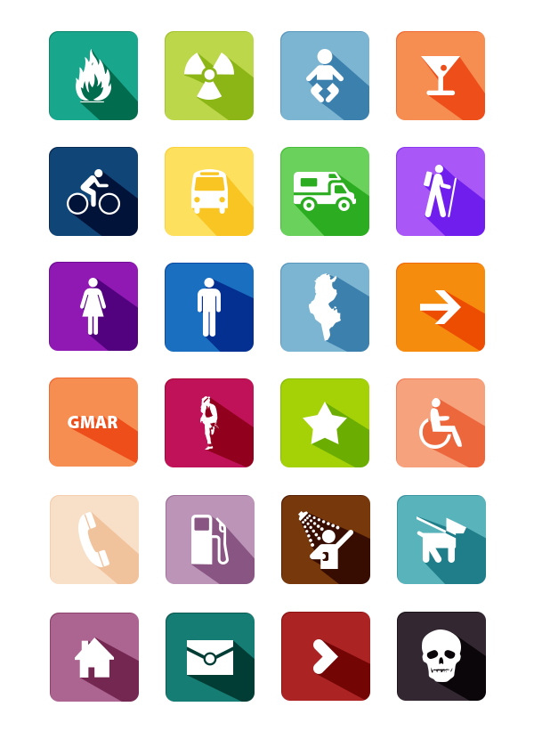 Long Shadow Colorful Flat Icons Set PSD wheelchair, Web Resources, Web Elements, washroom, unique, UI elements, UI, symbols, Stylish, signs, set gmarellile, Resources, Quality, PSD Icons, poison, Phone, pedestrian, pack, original, new, Modern, long shadows, long shadow, long, Icons, Icon PSD, Icon, Fresh, Free Icons, Free Icon, free download, flat style, flat psd, flat icons, Flat Design, Flat, Fire, Elements, detailed, Design, Danger, Creative, Colorful, Clean, baby,