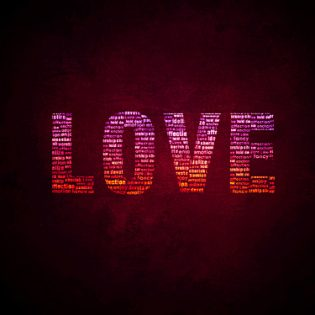 Love Wallpaper Psd