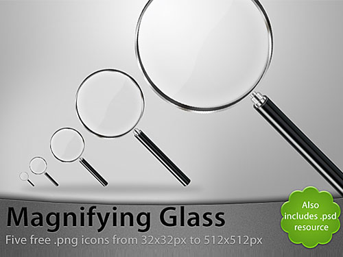 Magnifying Glass PSD Psd Templates PSD Sources psd resources PSD images psd free download psd free PSD file psd download PSD Objects Magnifying Layered PSDs Icons Glossy Glassy Glass Free PSD download psd download free psd
