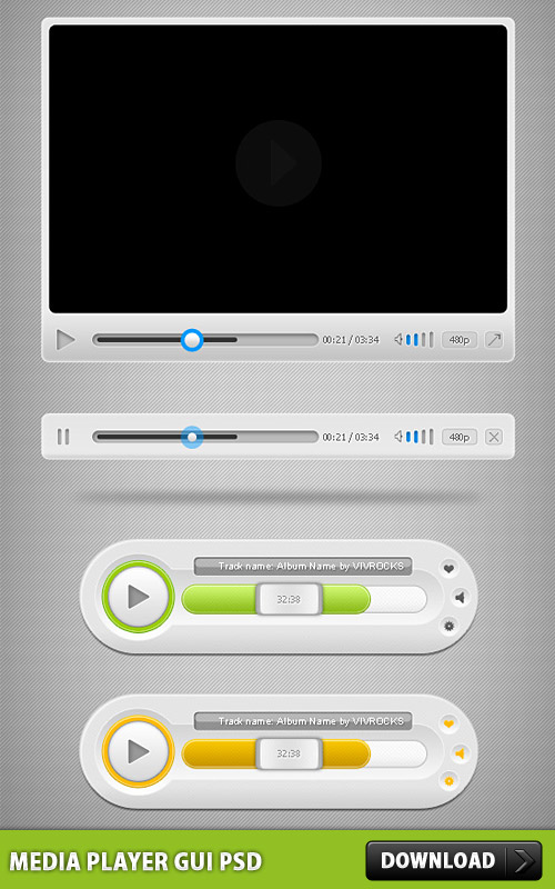 Media Player GUI PSD Winamp Web Resources Web Player Web Elements Video Player UI Skin Resources Psd Templates PSD Sources psd resources PSD images psd free download psd free PSD file psd download PSD Player Skin Player Music Player Music Media Player Layered PSDs Icon PSD GUI Graphical User Interface Free PSD Free Icons Free Icon FLV Player Flash Player download psd download free psd Digital Media Player Audio Player