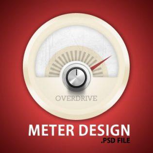 Meter Design PSD File