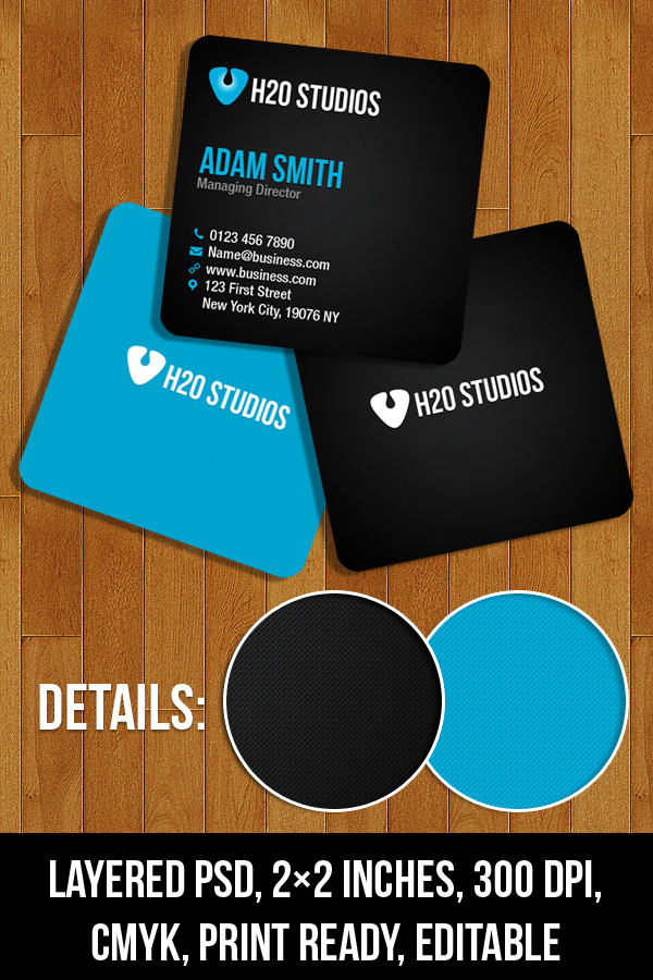 Mini Business Cards Free PSD Download - Download PSD