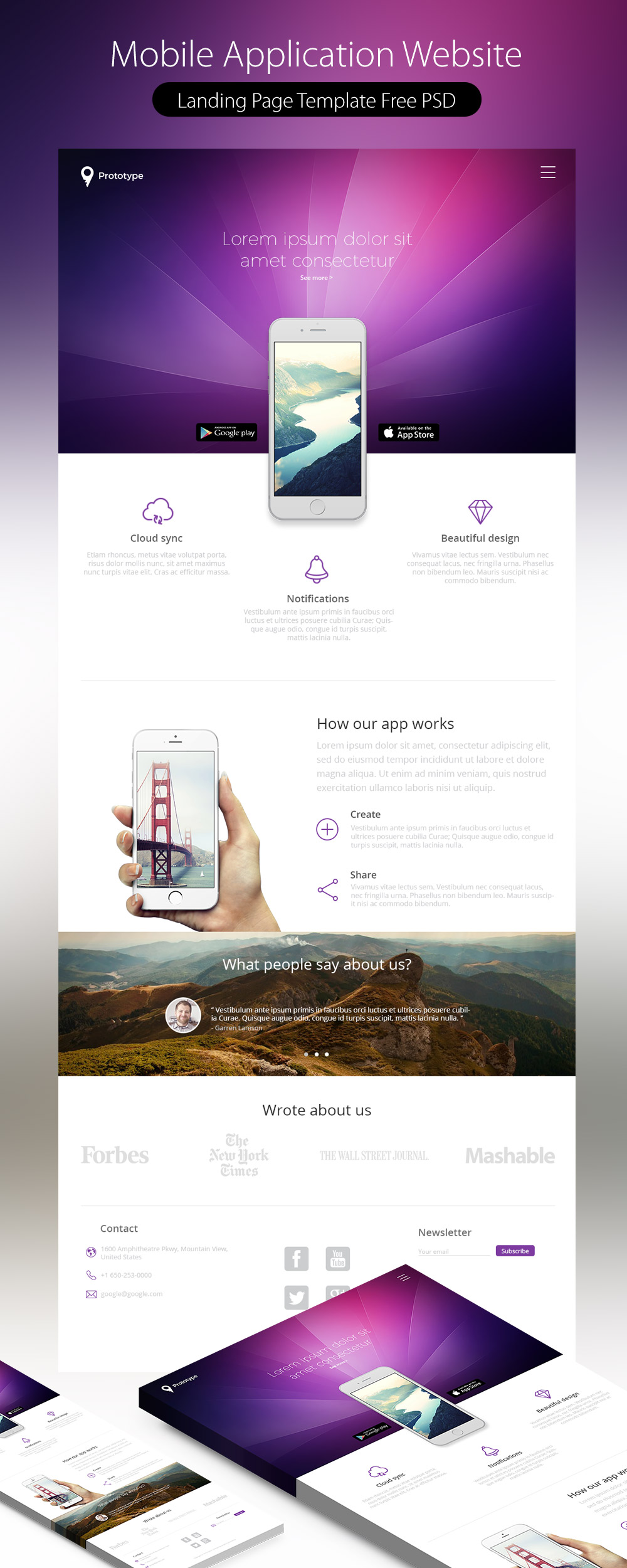 High quality 50 free corporate and business web templates for Mobile site template free download