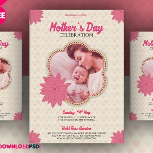 Mothers Day Flyer Free PSD