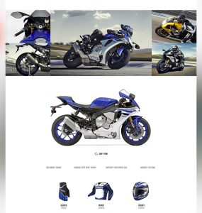 Motor Bike Shop Free PSD Website Template