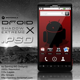 Motorola Droid X PSD