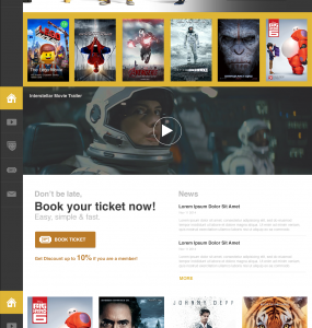 Movie Cinema Website PSD Template www Website Template Website Layout Website webpage Web Template Web Resources web page Web Layout Web Interface Web Elements Web Design Web Watch Video User Interface UI Trailer tickets Theater Template Star review Resources Psd Templates Player Play Movies Movie latest IMDB hollywood hall entertaiment Elements Cinema Hall Cinema Cartoon book tickets