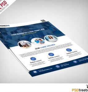 Multipurpose Business Flyer Free PSD Template