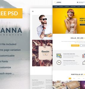 Multipurpose Business Website Template Free PSD Theme