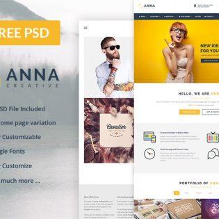 Multipurpose Business Website Template Free PSD Theme