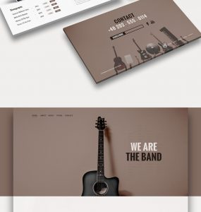 Music Band Website Template Free PSD www, Website Template, Website Layout, Website, webpage, Web Template, Web Resources, web page, Web Layout, Web Interface, Web Elements, Web Design, Web, User Interface, unique, UI, tour, tickets, Template, Stylish, Single Page, Singers, Simple, show, Resources, Quality, Psd Templates, PSD Sources, psd resources, PSD images, psd free download, psd free, PSD file, psd download, PSD, Portfolio, Play, Photoshop, Personal Website, Personal Portfolio, Personal, Party, pack, original, online music, one page, new, musical, music portal, Music Player, music band, music album, Music, Modern, Listen, Layered PSDs, Layered PSD, Homepage, Graphics, Fresh, Freebies, Freebie, Free Resources, Free PSD, free download, Free, Elements, download psd, download free psd, Download, DJ, detailed, Design, Creative, Corporate, Clean, brown, band, Artist, album, Adobe Photoshop,