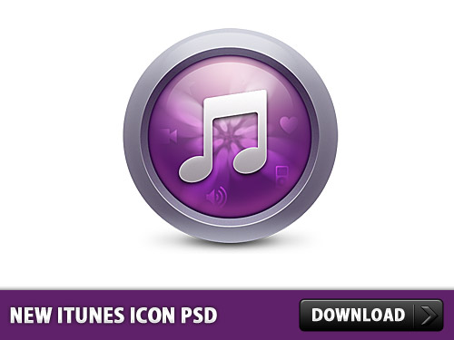 New iTunes Icon Free PSD Songs, Psd Templates, PSD Sources, psd resources, PSD images, psd free download, psd free, PSD file, psd download, PSD, Player, Orb, Music Player, Music, iTunes, Icon PSD, Icon, Glossy, Free PSD, Free Icons, Free Icon, download psd, download free psd, Circle, Application, Apple, App,