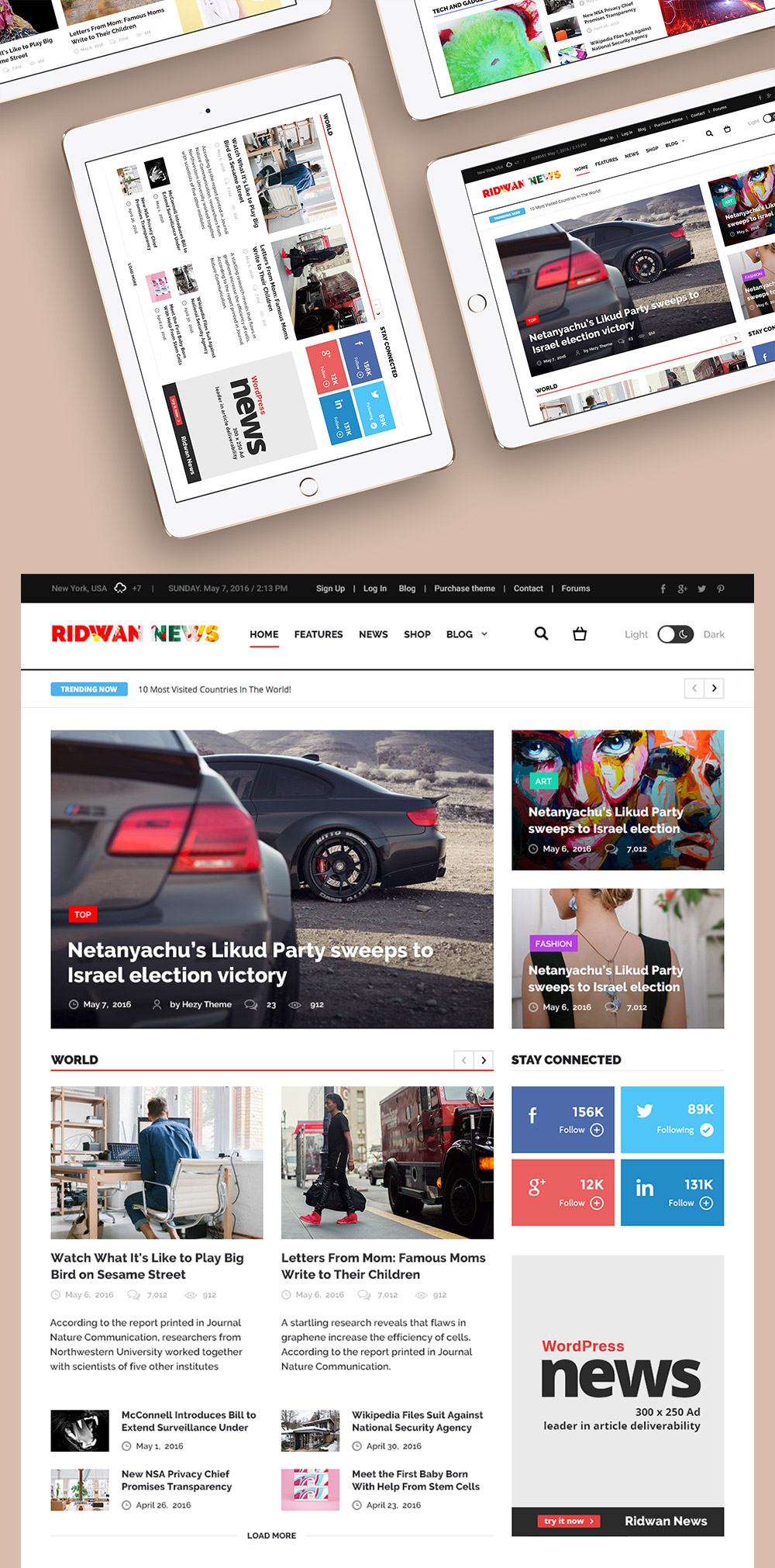 news site template free download - news website home page template free psd download