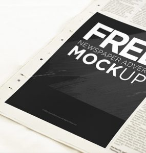 Newspaper Advertisement Mockup PSD Freebie unique, Template, Stylish, Showcase, Resources, Quality, Psd Templates, PSD Sources, psd resources, PSD images, psd free, PSD file, psd download, PSD, prints, Photoshop, pack, original, Newspaper, News, new, Modern, Mockup, mock-up, Mock, Layered PSDs, Layered PSD, Graphics, Fresh, Freebies, Freebie, Free Template, Free Resources, Free PSD, free download, Free, download psd, Download, detailed, Design, Customizable, Creative, Clean, Advertising, advertisement, Advert, ad,