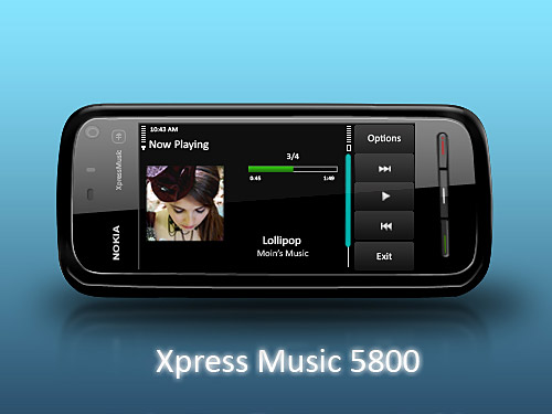 Nokia Xpress Music 5800 PSD Psd Templates PSD Sources psd resources PSD images psd free download psd free PSD file psd download PSD Phone Objects Nokia Music Mobile Layered PSDs Icons Icon Handset Free PSD download psd download free psd
