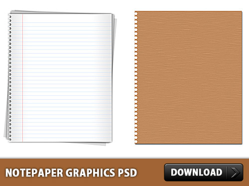 Notepaper Graphics Free PSD file Study, School, Resources, Psd Templates, PSD Sources, psd resources, PSD images, psd free download, psd free, PSD file, psd download, PSD, Paper, Objects, Notepaper, Notepad, NoteBook, Note, Layered PSDs, Free PSD, Education, download psd, download free psd,