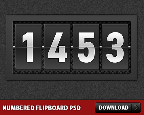 Numbered Flipboard PSD Score, Psd Templates, PSD Sources, psd resources, PSD images, psd free download, psd free, PSD file, psd download, PSD, Numbers, Layered PSDs, Graphics, Free PSD, Flip, Fliboard, download psd, download free psd,