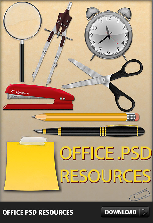 Office Free PSD Resources Sticky, Sticker, Stepler, Stationary, Scissor, School, Psd Templates, PSD Sources, PSD Set, psd resources, PSD images, psd free download, psd free, PSD file, psd download, PSD, Post-It, Pencil, Pen, Paper Clip, Paper, Office, Objects, Notes, Layered PSDs, Icons, Icon Set, Icon PSD, Icon, Free PSD, Free Icons, Free Icon, download psd, download free psd, Corporate, Clock,
